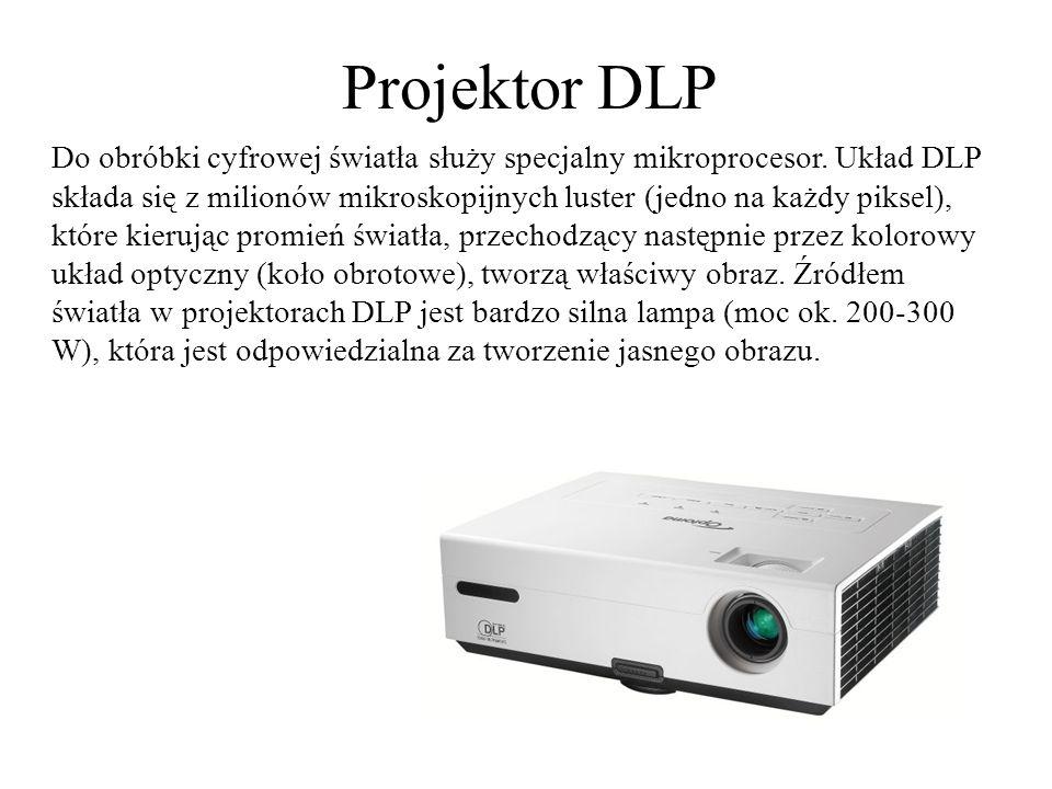 Projektor LCD Projektory LCD to stosunkowo młode rozwiązanie.