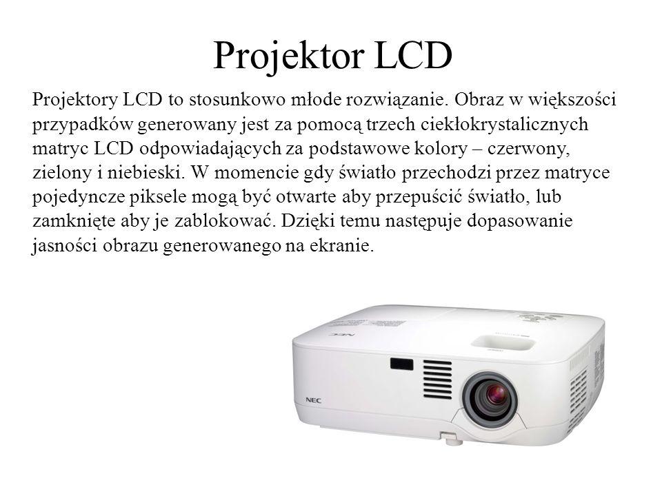 Projektor CASIO Projektory CASIO wykorzystują źródło światła w postaci laserowo- diodowych lamp hybrydowych Laser&LED.