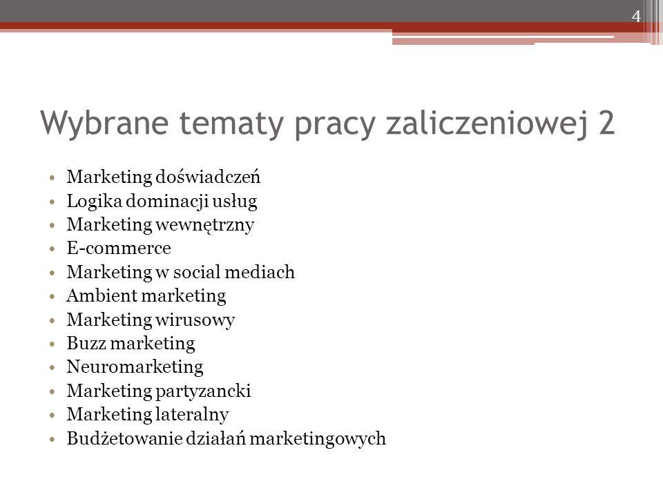 Bibliografia 4 Doyle, P.(2000). Value-Based Marketing.