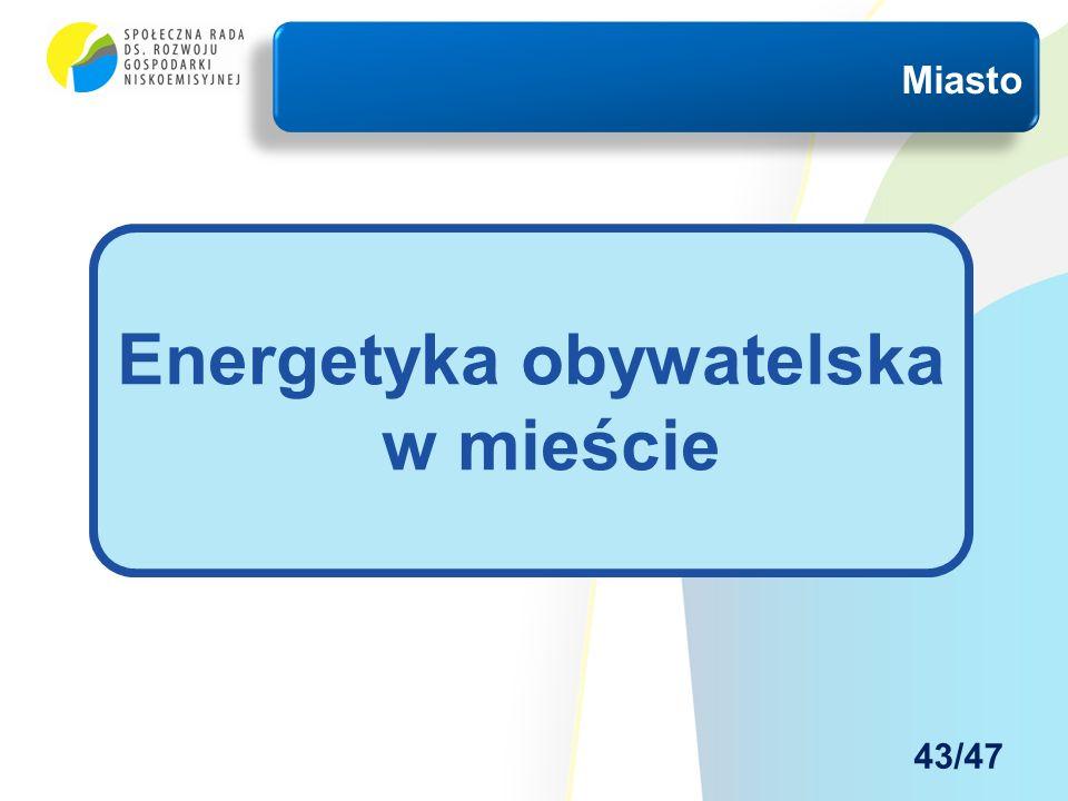 Miasto Energetyka obywatelska w mieście 43/47