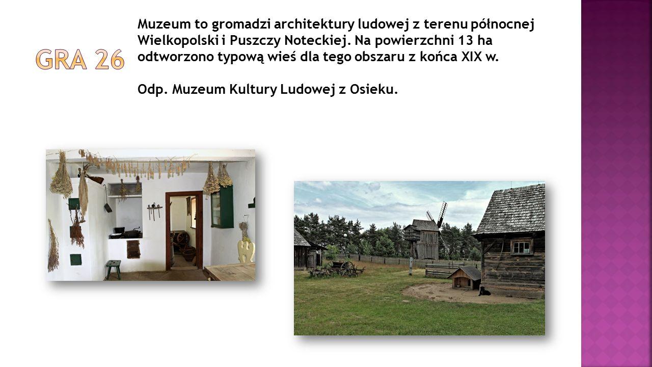 Muzeum to gromadzi architektury ludowej z terenu północnej Wielkopolski i Puszczy Noteckiej. Na powierzchni 13 ha odtworzono typową wieś dla tego obsz
