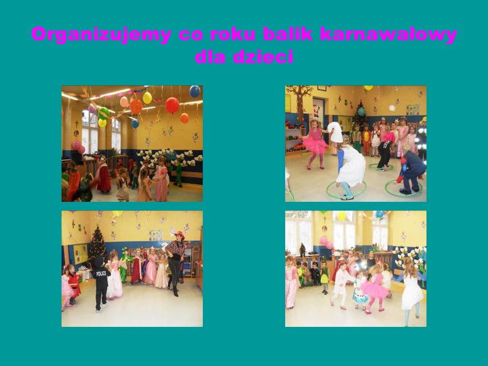 Organizujemy co roku balik karnawałowy dla dzieci