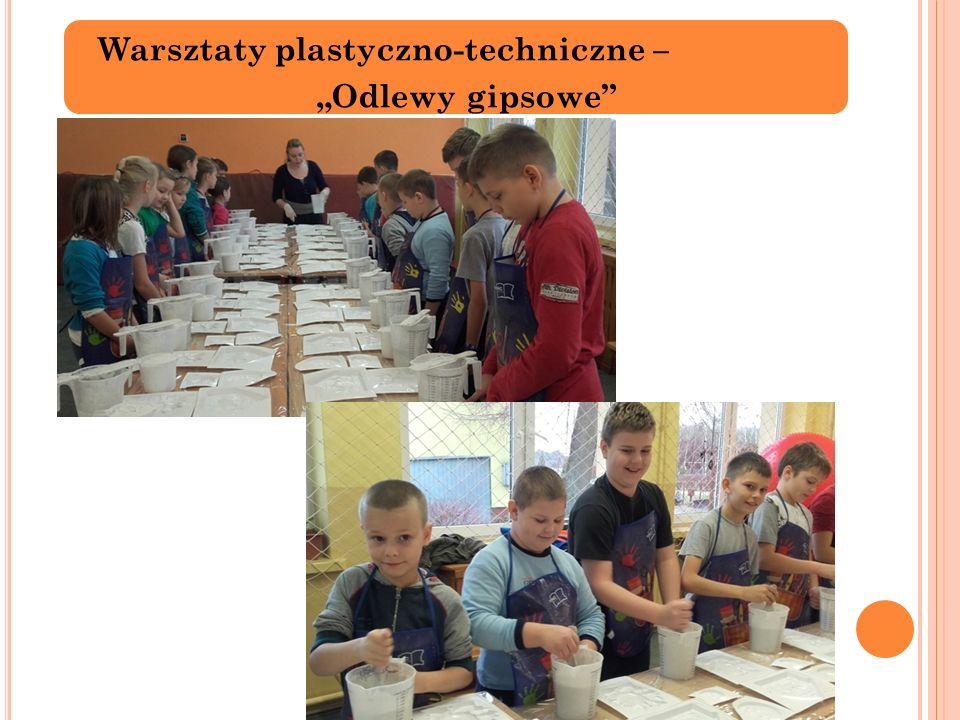 """Warsztaty plastyczno-techniczne – """"Odlewy gipsowe"""