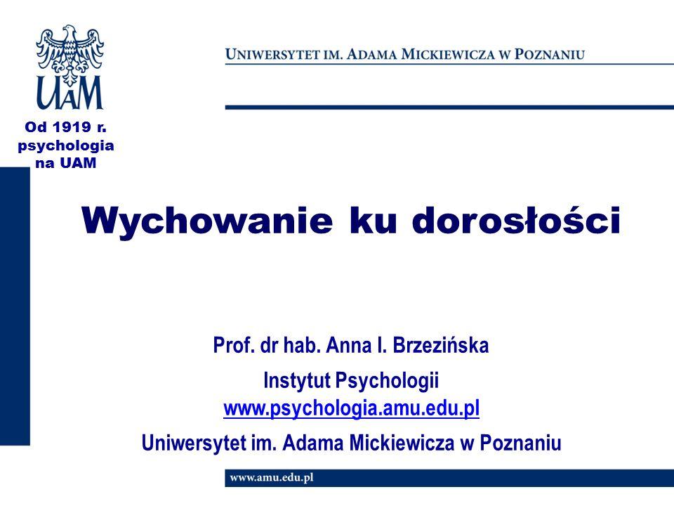 Prof.dr hab. Anna I.