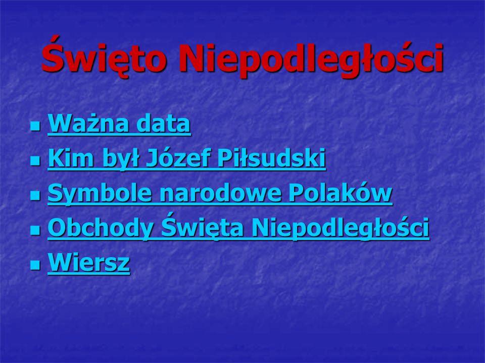 Ważna data w historii Polski Równo 80 lat temu 11 listopada 1918 roku Polska odzyskała niepodległość po 123 latach niewoli.