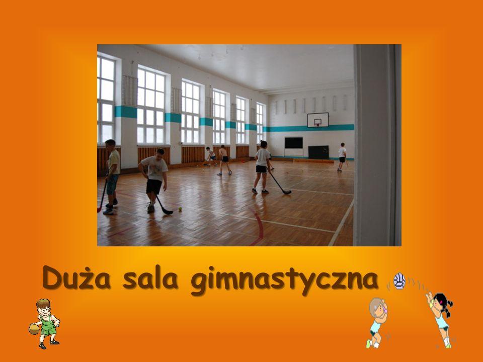 Duża sala gimnastyczna