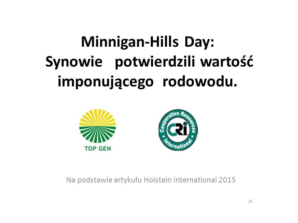 Minnigan-Hills Day: Synowie potwierdzili wartość imponującego rodowodu.