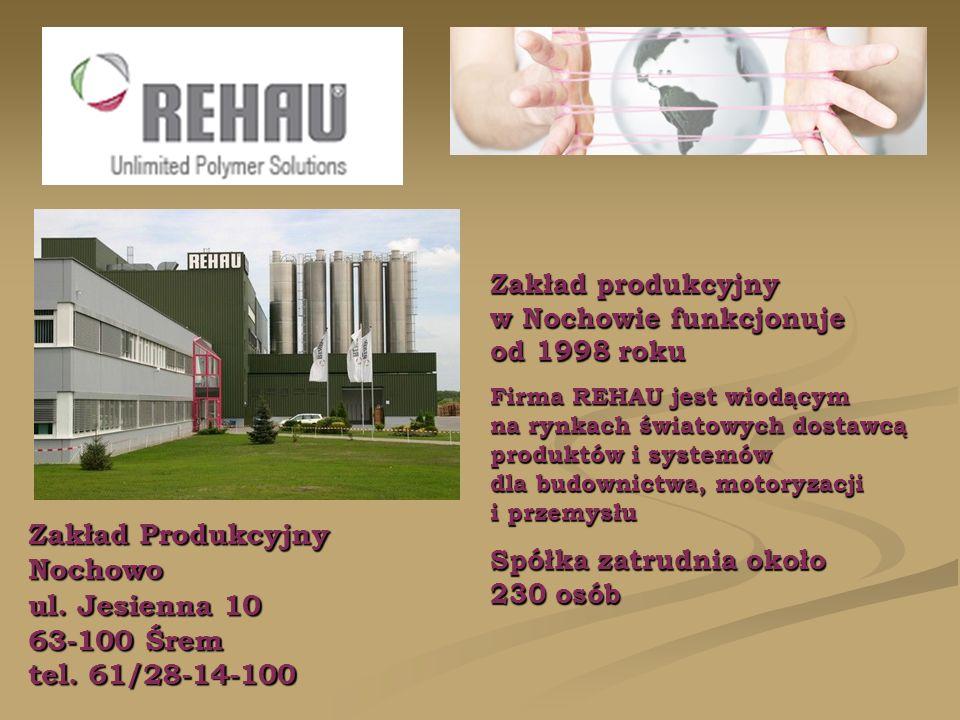 Zakład Produkcyjny Nochowo ul. Jesienna 10 63-100 Śrem tel.