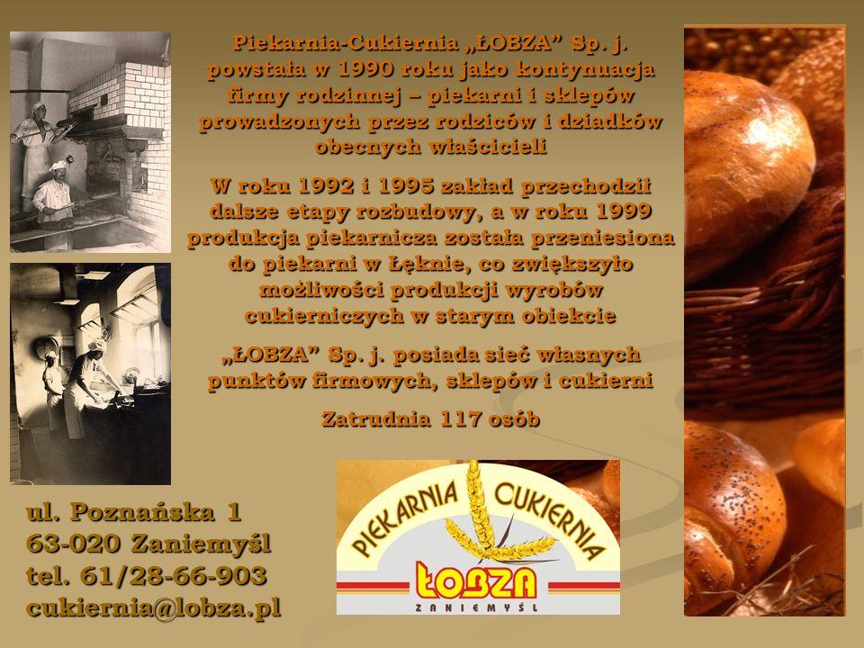 ul. Poznańska 1 63-020 Zaniemyśl tel.