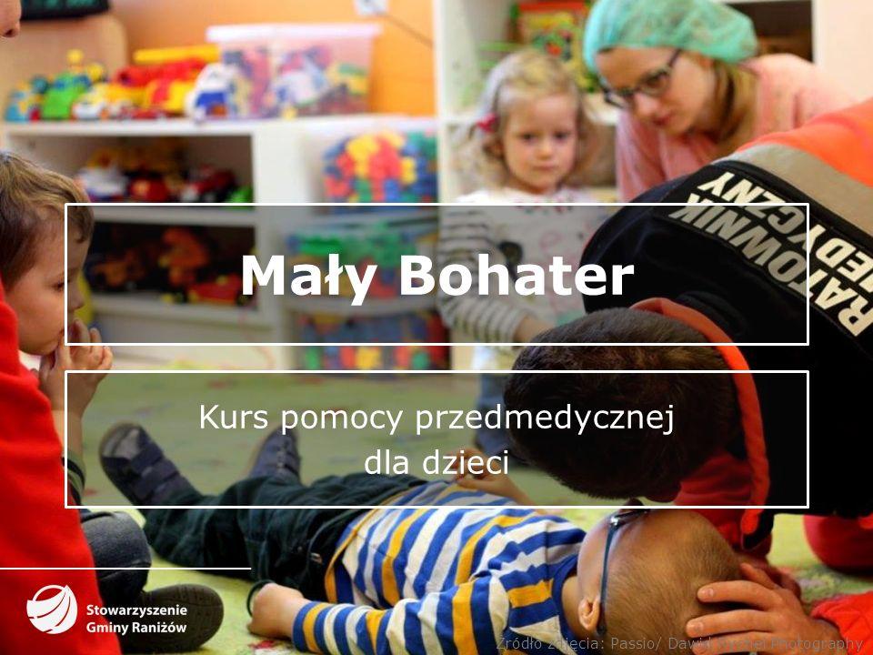 Mały Bohater Kurs pomocy przedmedycznej dla dzieci Źródło zdjęcia: Passio/ Dawid Rychel Photography