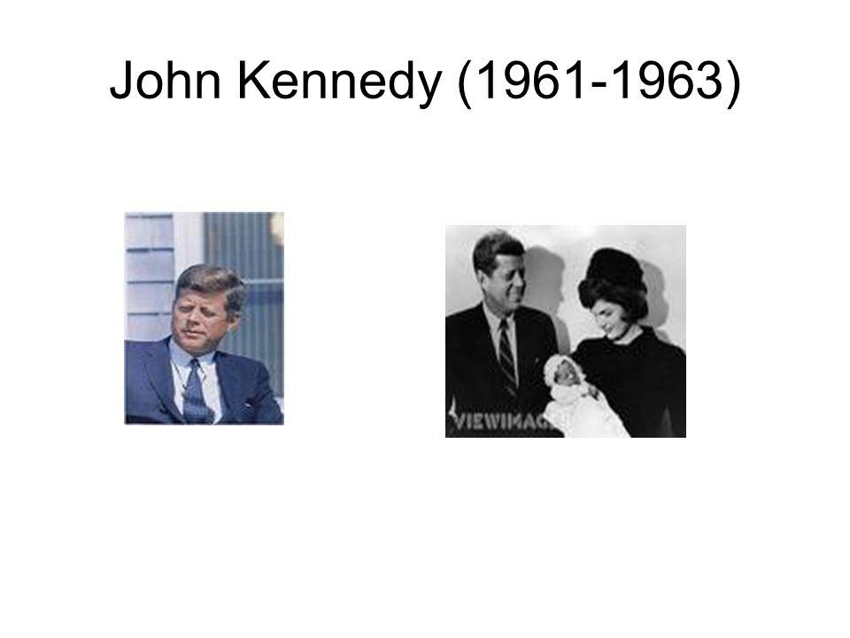 John Kennedy (1961-1963)