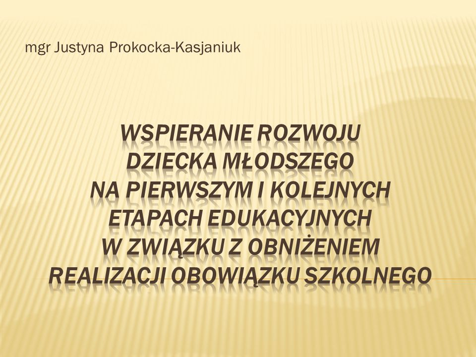 mgr Justyna Prokocka-Kasjaniuk