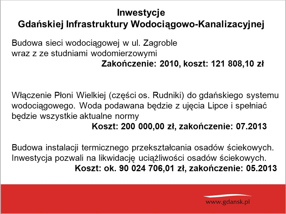 Budowa sieci wodociągowej w ul.