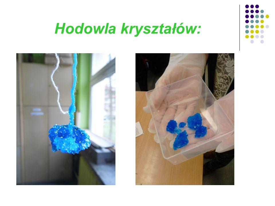 Hodowla kryształów: