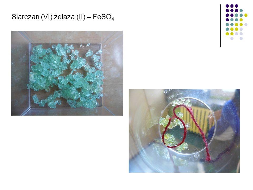 Siarczan (VI) żelaza (II) – FeSO 4