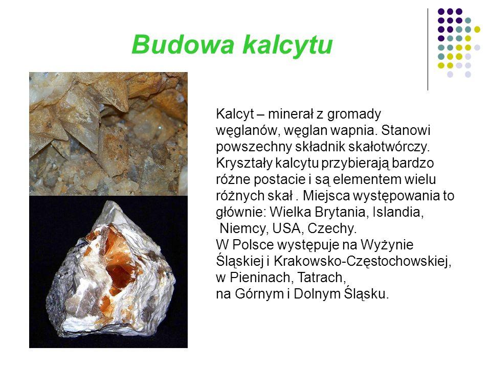Budowa kryształu górskiego Kryształ górski - bezbarwny, przezroczysty minerał.