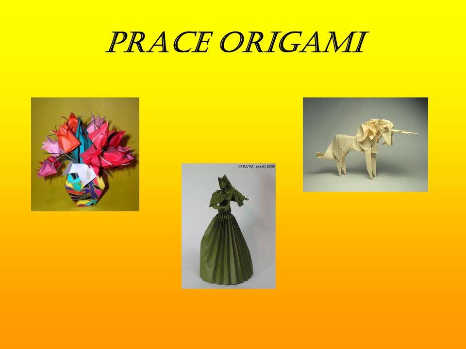 prace origami