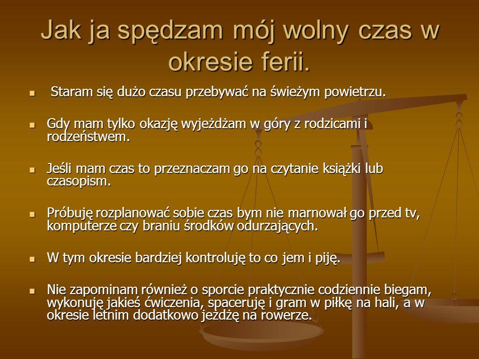"""Dziękuję za uwagę. Przygotował : Mariusz Zagórski kl. II """"c"""