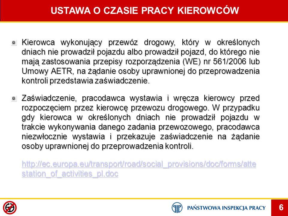 77 www.pip.gov.pl Dziękuję za uwagę Szerokiej drogi !