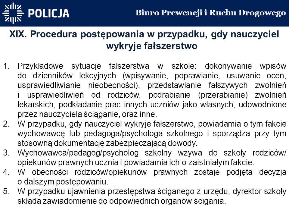 Biuro Prewencji i Ruchu Drogowego XIX.