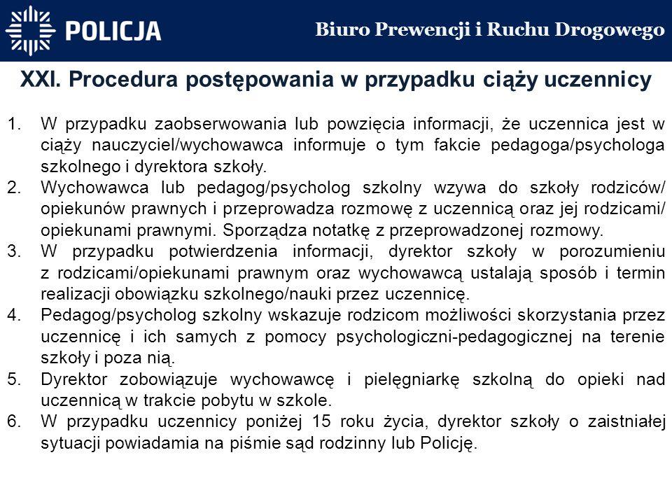 Biuro Prewencji i Ruchu Drogowego XXI.
