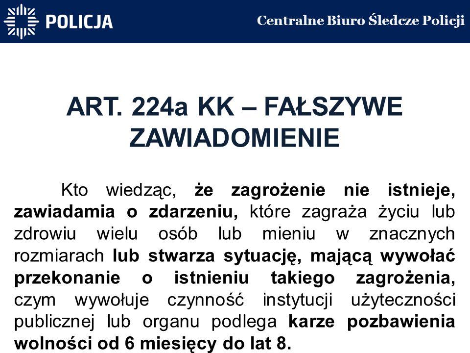 Centralne Biuro Śledcze Policji ART.