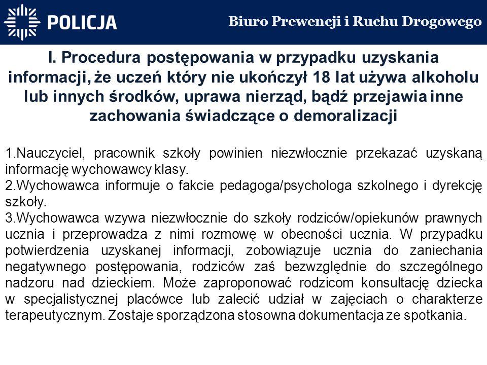Biuro Prewencji i Ruchu Drogowego I.
