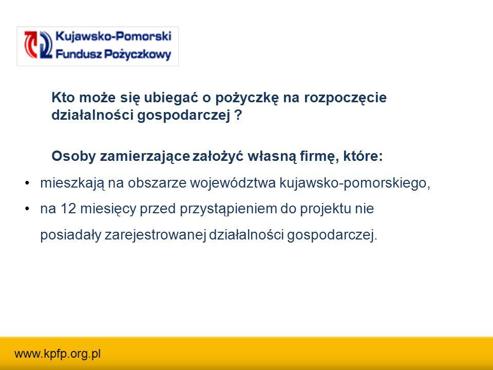 Regionalne Inkubatory Przedsiębiorczości KPFP RIP KPFP Toruń - ul.