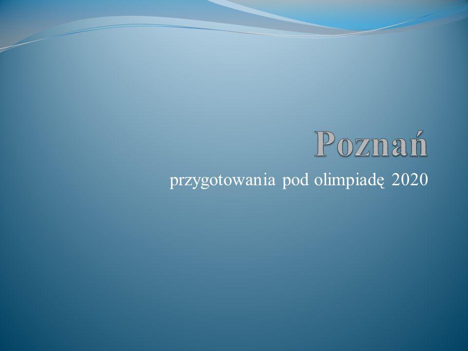 przygotowania pod olimpiadę 2020