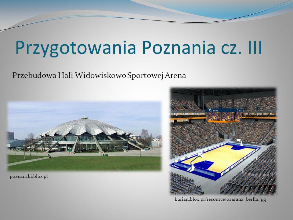 Przygotowania Poznania cz. III Przebudowa Hali Widowiskowo Sportowej Arena kurian.blox.pl/resource/o2arana_berlin.jpg poznanski.blox.pl