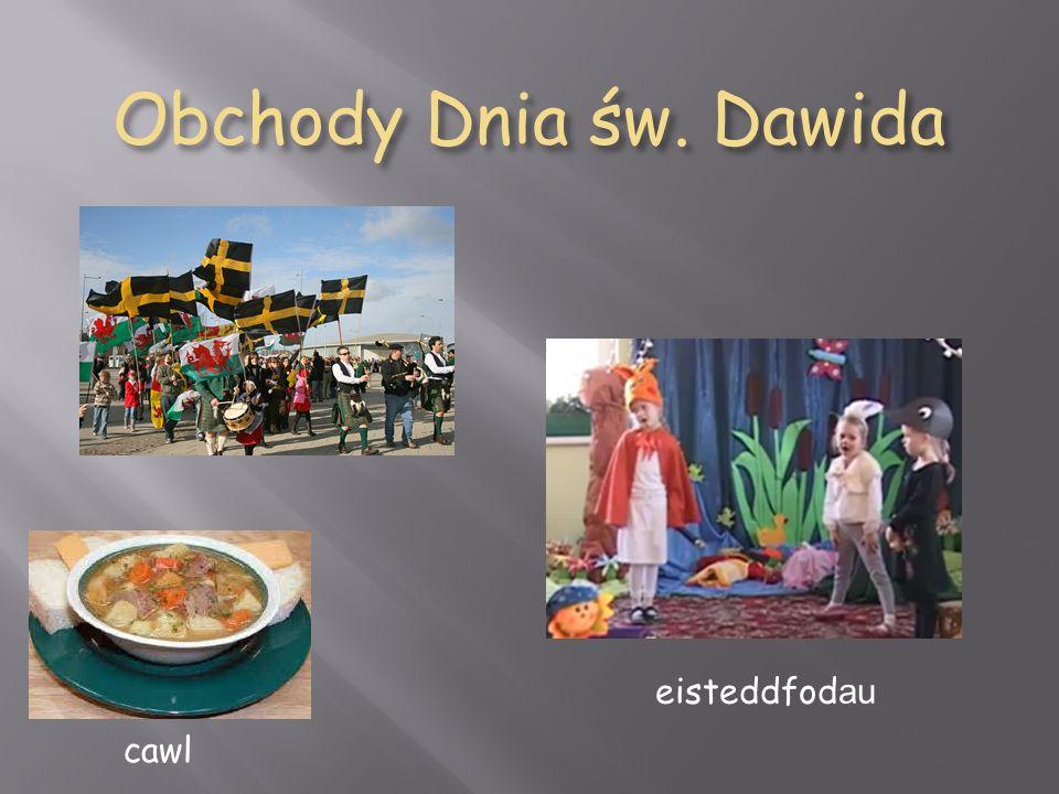 Obchody Dnia św. Dawida cawl eisteddfod au