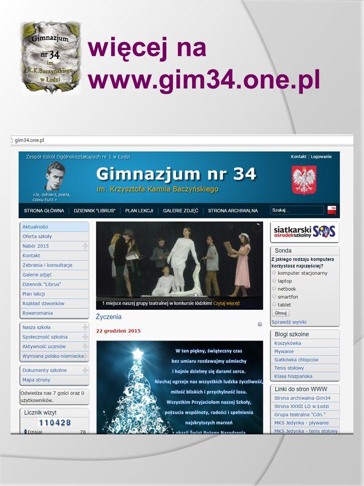 więcej na www.gim34.one.pl