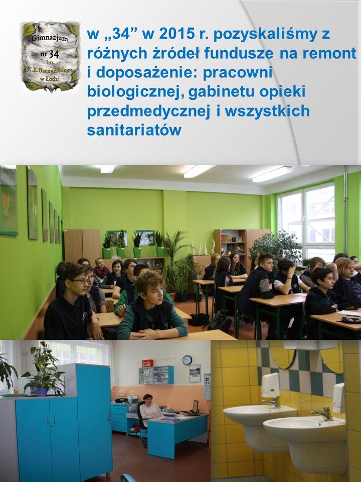 """w """" 34 organizujemy lekcje terenowe oraz zwiedzamy Polskę i inne kraje"""
