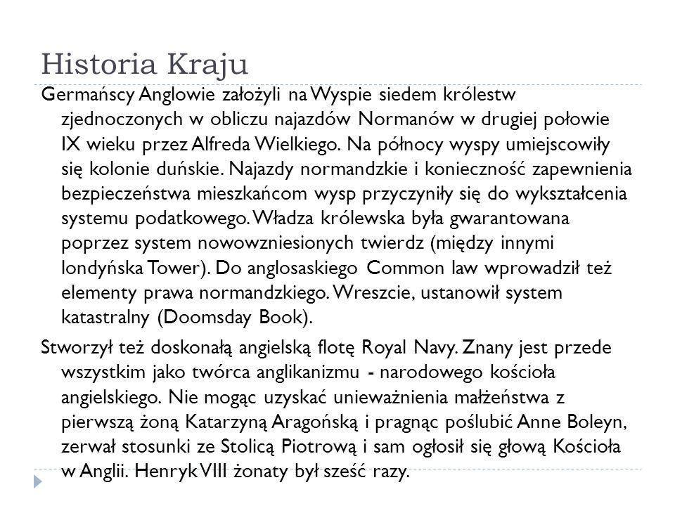 ŹRÓDŁA http://www.england.pl/informacje/informacje ogolne-o-anglii.html http://www.edulandia.pl/edukacja/1,124765,6500625,Historia_An glii_od_podboju_normandzkiego_do_ustanowienia.html http://www.koniecswiata.net/europa/wielka- brytania/encyklopedia/ludzie-i-kultura/ https://pl.wikipedia.org/wiki/Religia_w_Wielkiej_Brytanii https://pl.wikipedia.org/wiki/100_Najwybitniejszych_Brytyjczyk% C3%B3w https://en.wikipedia.org/wiki/London_Eye