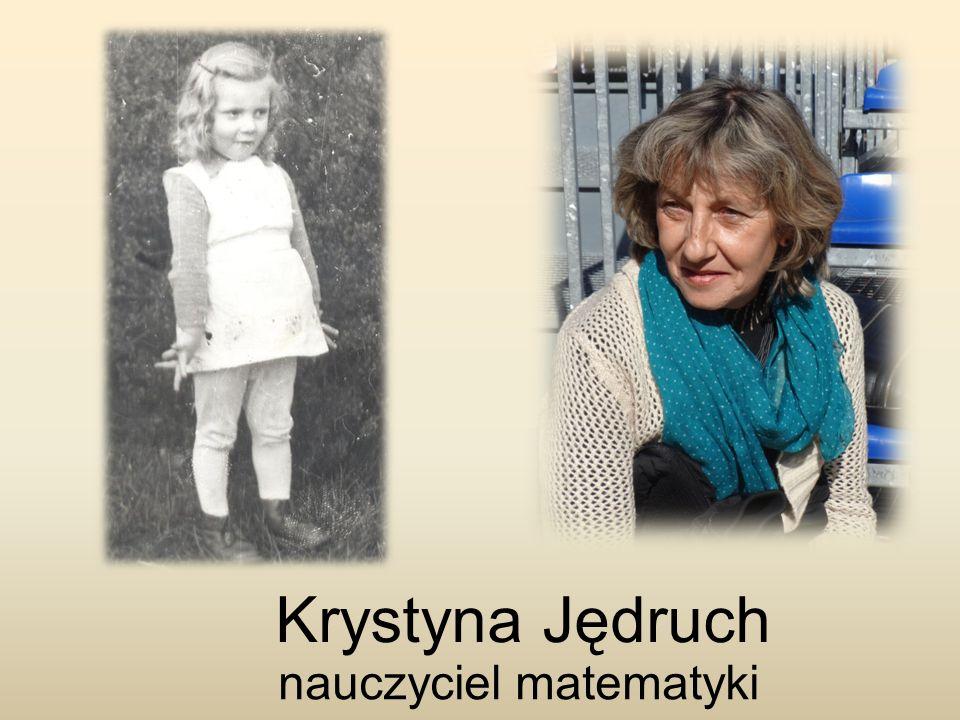 Krystyna Jędruch nauczyciel matematyki
