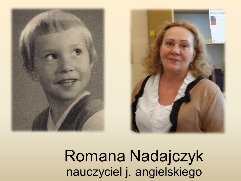 Romana Nadajczyk nauczyciel j. angielskiego