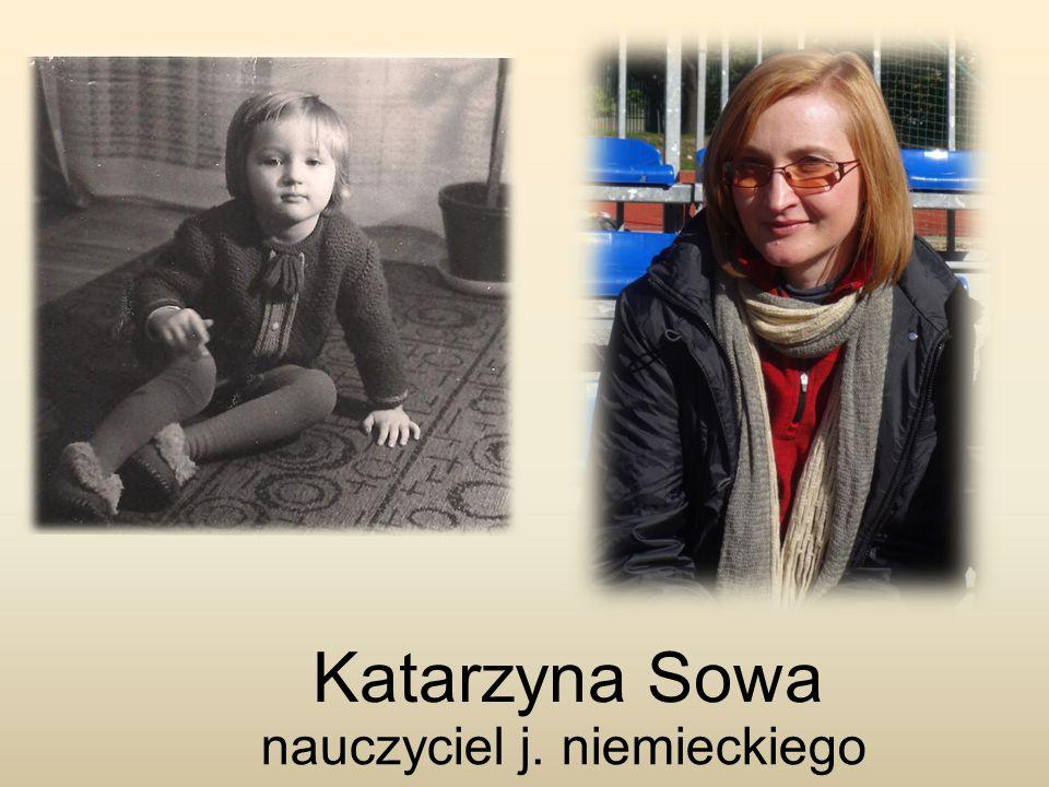 Katarzyna Sowa nauczyciel j. niemieckiego