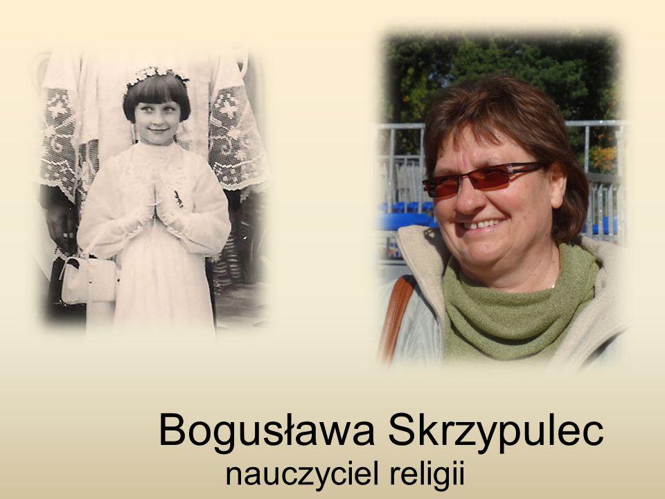 Bogusława Skrzypulec nauczyciel religii