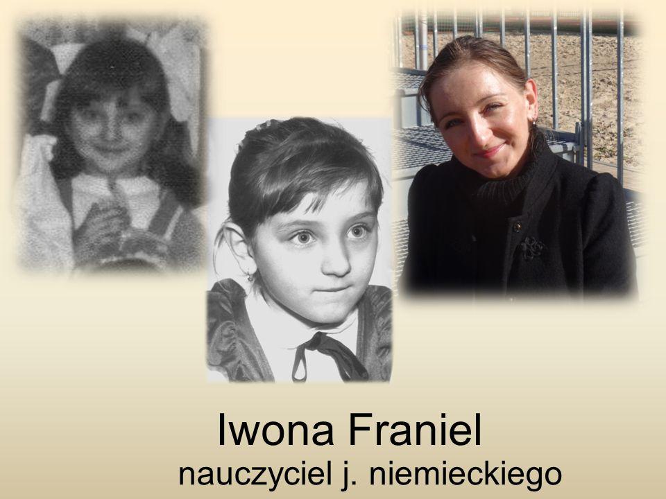 Iwona Franiel nauczyciel j. niemieckiego
