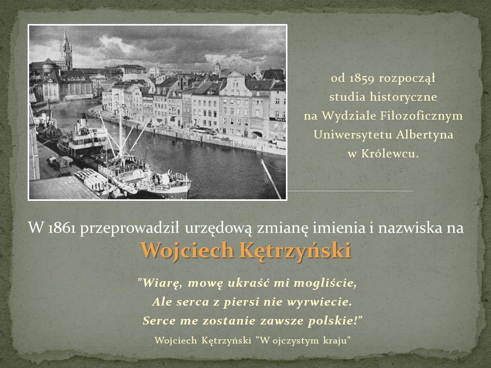 od 1859 rozpoczął studia historyczne na Wydziale Filozoficznym Uniwersytetu Albertyna w Królewcu.