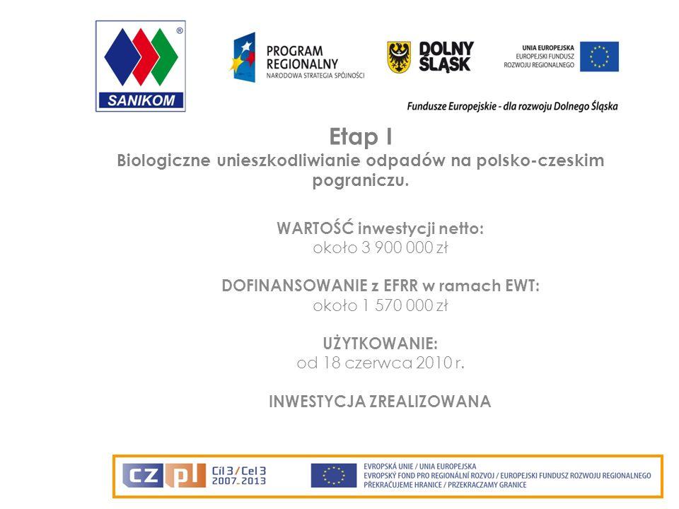 Etap II Budowa kwatery na odpady inne niż niebezpieczne i obojętne w Lubawce.
