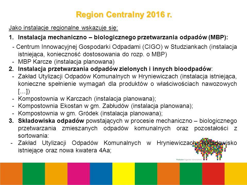 4 Region Centralny 2016 r.
