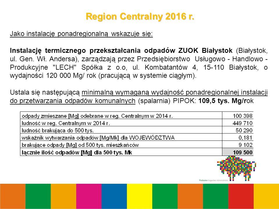 7 Region Centralny 2016 r.