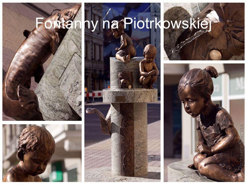 Fontanny na Piotrkowskiej