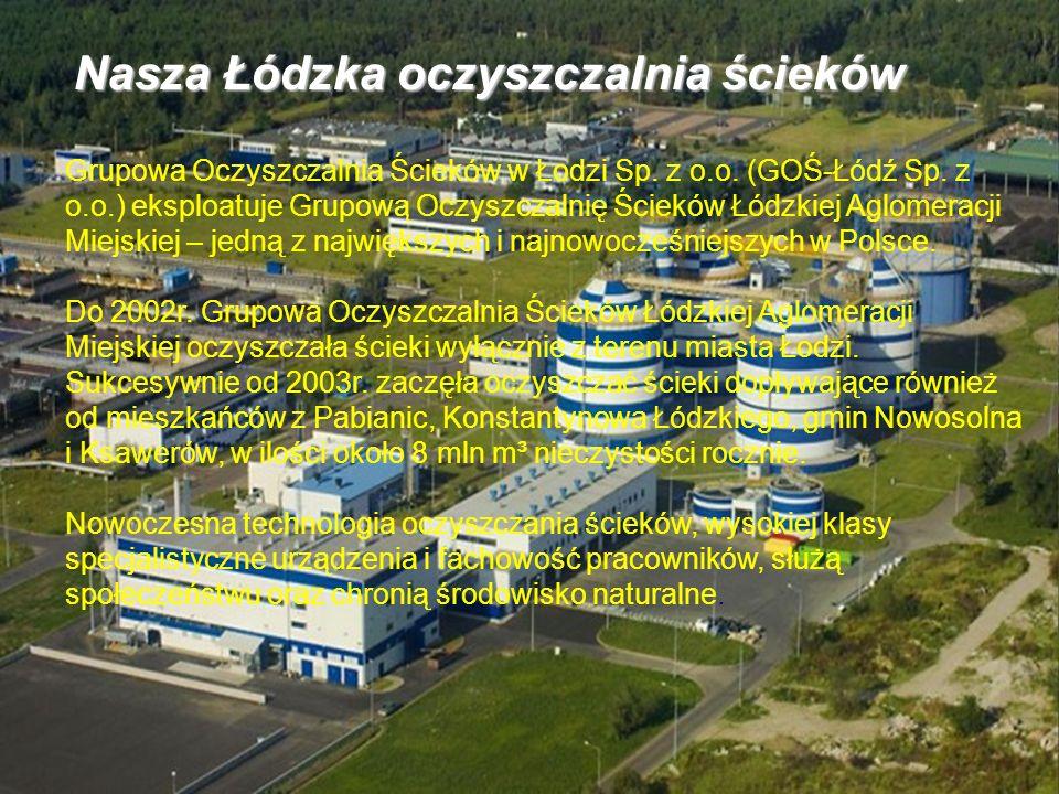 Grupowa Oczyszczalnia Ścieków w Łodzi Sp.z o.o. (GOŚ-Łódź Sp.