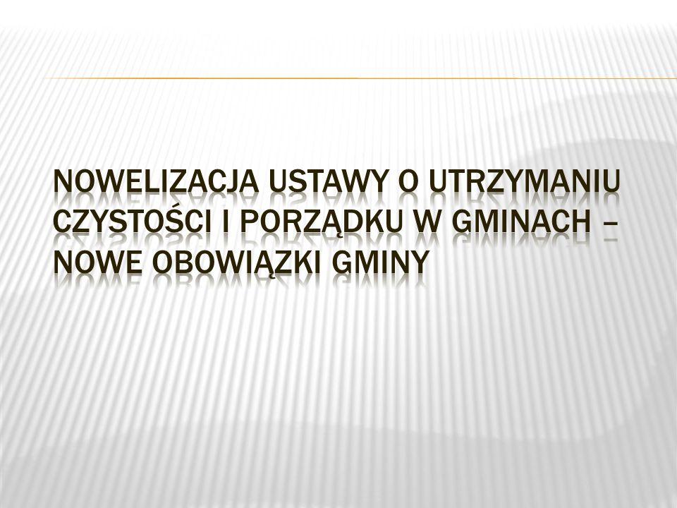  Ustawa obowiązuje od dnia 1 stycznia 2012 r. Do 01.07.2013 r.