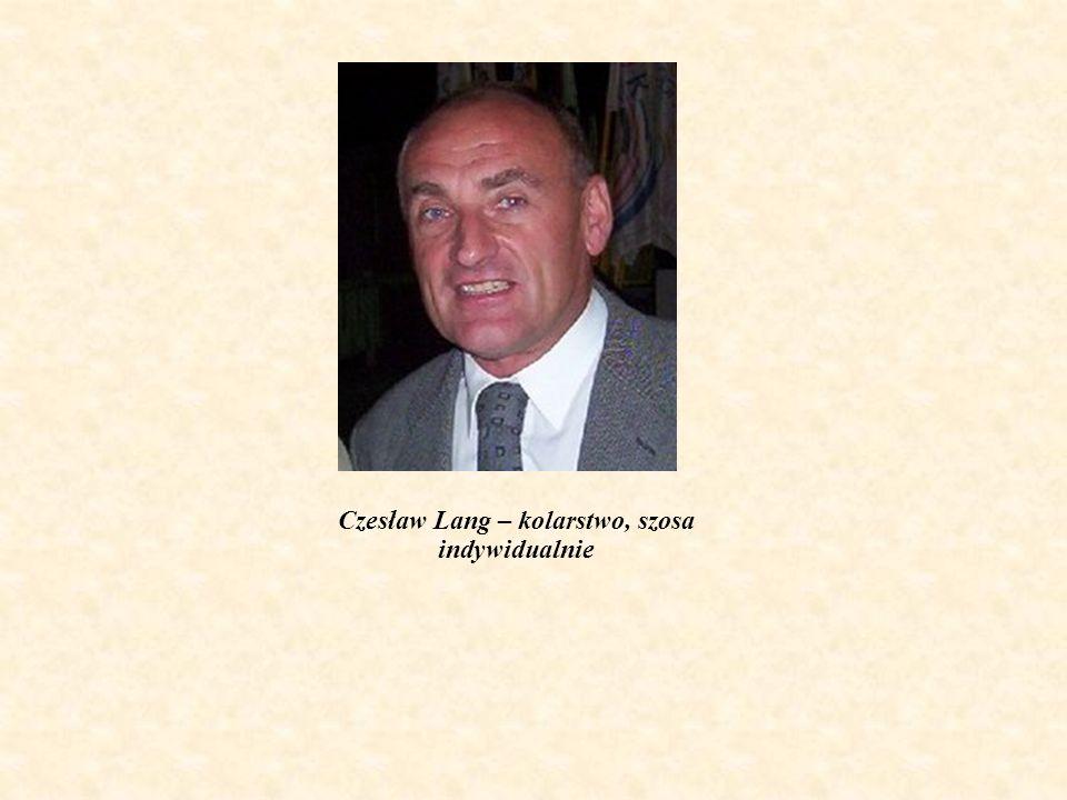Czesław Lang – kolarstwo, szosa indywidualnie