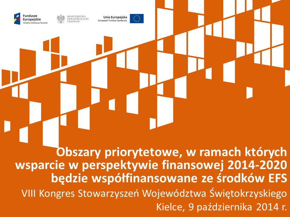 VIII Kongres Stowarzyszeń Województwa Świętokrzyskiego Kielce, 9 października 2014 r.