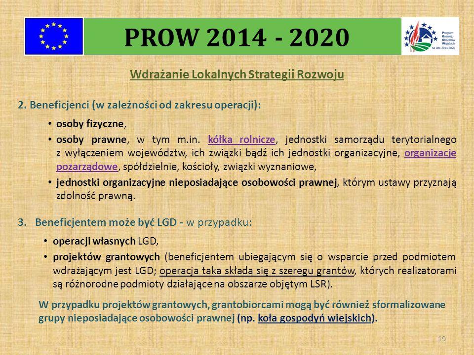 Wdrażanie Lokalnych Strategii Rozwoju 2.