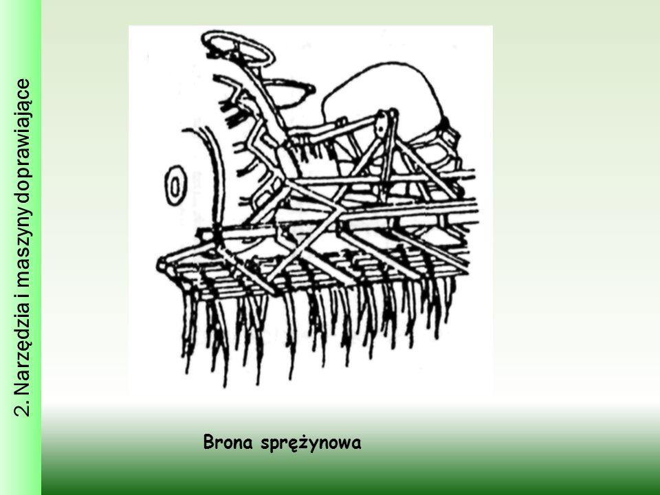 Brona sprężynowa 2. Narzędzia i maszyny doprawiające